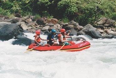 Teknik Mendayung di Noars Rafting, www.songa-rafting.com, 081334664876