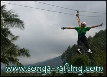 OUTBOUND DI SONGA RAFTING PROBOLINGGO, www.songa-rafting.com, 0341 5425754